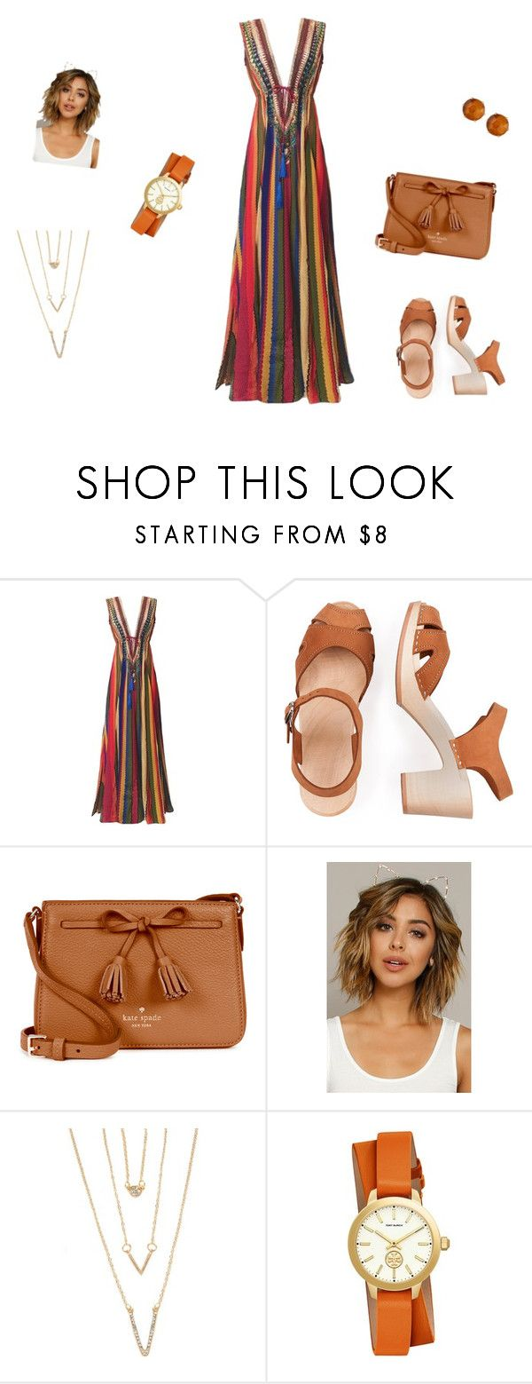 """""""Untitled #43"""" by abantescu1320 ❤ liked on Polyvore featuring Kate Spade, Fantasia, SHAN, Tory Burch and Ippolita"""