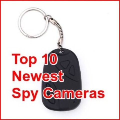 Spy cameras have come a long way since their introduction back in the late 1800's. See ten of the most clever surveillance and hidden spy cameras currently available.