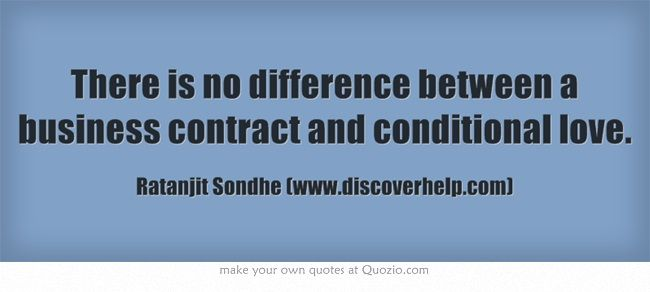 There Is No Difference Between A Business Contract And