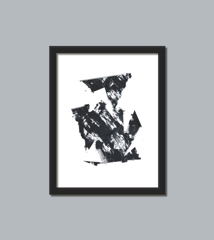 black and white art print 5 black and white 3 modern art print abstract picture poster wall decor contemporary this print would be beautiful to add to your home or business and brings a modern esthetic www.etsy.com/shop/loonhouse
