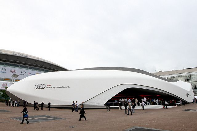 Audi At Frankfurt Auto Show 2011 By Audi Usa Via Flickr