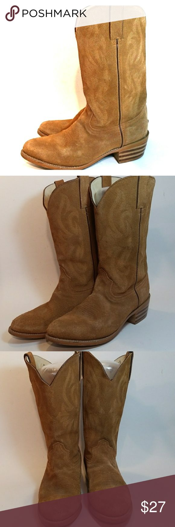 DURANGO WOMEN'S COWBOY BOOTS SIZE 7.5 EE Western, floral, style tall boots. Good condition. Durango Shoes Heeled Boots