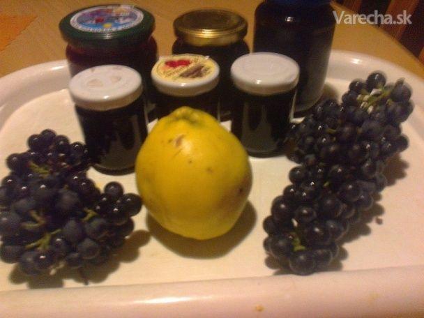 Hroznovo-dulový lekvár so škoricou a rumom /fotorecept/ - Recept