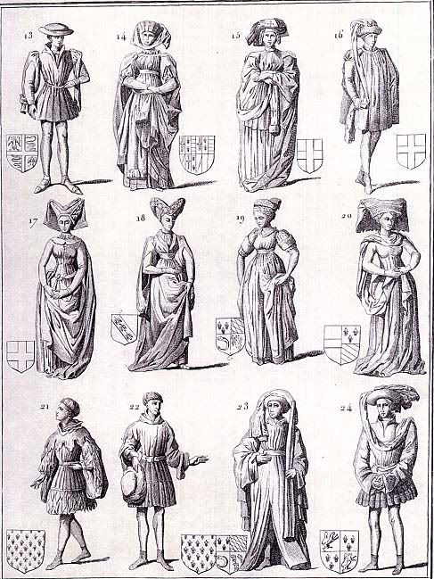 Clothes at the 15th Century