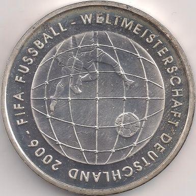 Pagina Motif: Coin-Europa-Central-Europa-Germania-Euro-10.00-2005-FIFA