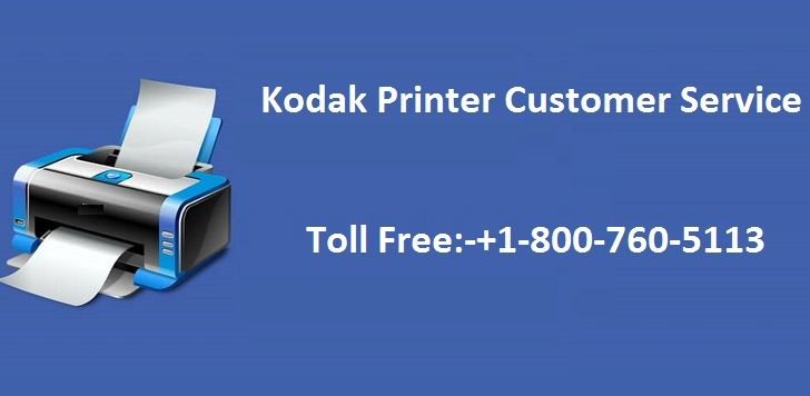 Kodak Printer Phone Support@ +1-800-760-5113