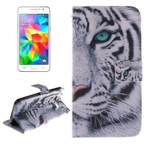 Peňaženkové puzdro White Tiger na Samsung Galaxy Grand Pr - Bakamo.sk - Kryty,obaly, puzdrá na mobil