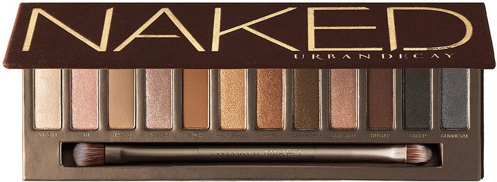 Urban Decay Naked Palette. A universally flattering palette that features 12 eye shadows with a distinctly Urban look