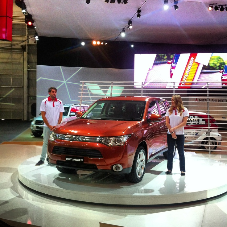 Mitsubishi Outlander gets unveiled