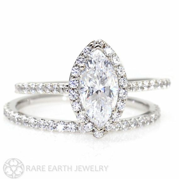 40 Most Beautiful Engagement Rings on Etsy |  #band #engagement #handmade #jewelry #rings | marquise engagement ring | Engagement Rings Etsy | via http://emmalinebride.com/jewelry/40-best-handmade-rings-ever/ 