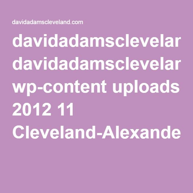davidadamscleveland.com wp-content uploads 2012 11 Cleveland-Alexander-Harrison-and-Proust-Antiques-Magazine-2.pdf