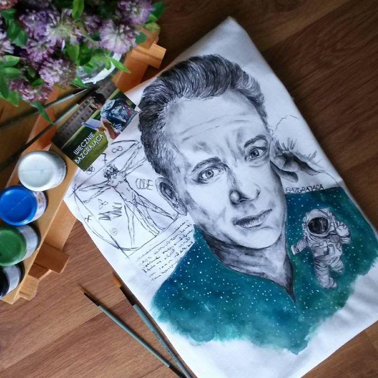 Tom Hanks Hand-painted t-shirt