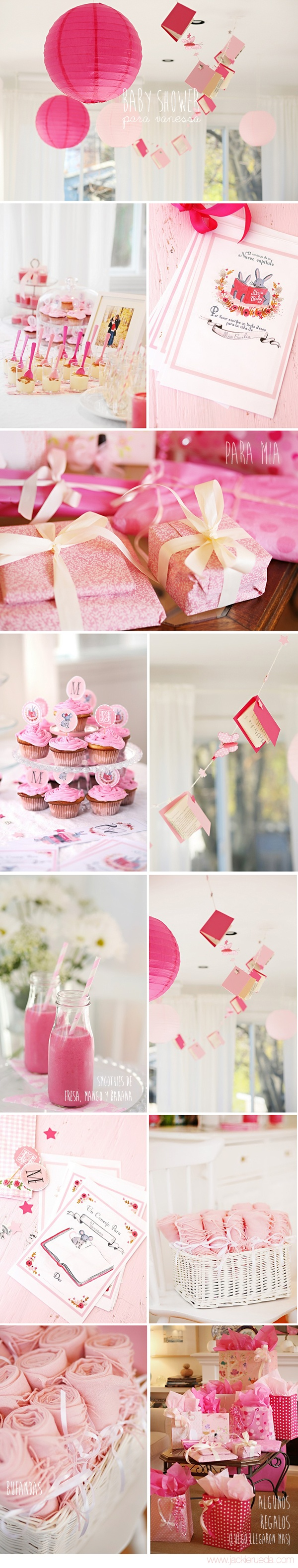 This is actually a baby shower but I'm liking the ideas for bday party as well.