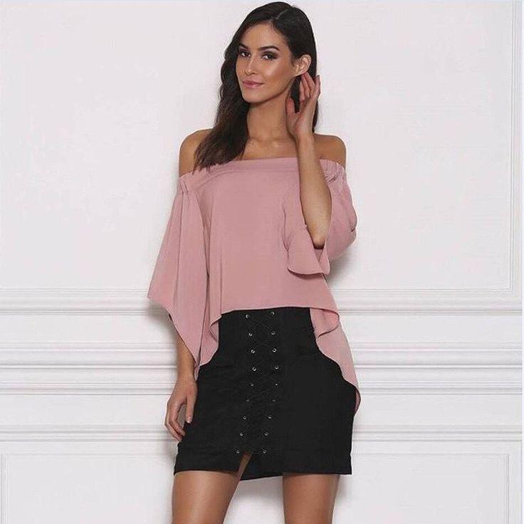 Slim High Waist Lace Up Suede Skirt - CELEBRITYSTYLEFASHION.COM.AU - 5