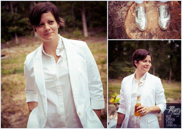 17 Best 1000 images about Lesbian Weddings Suits on Pinterest
