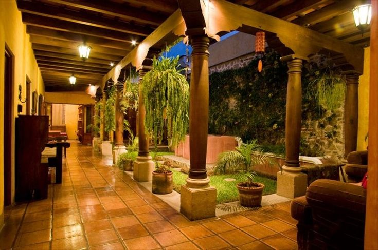 spanish homes with central courtyard - Google Search