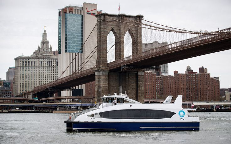 New York City just launched a new ferry service connecting Manhattan, Brooklyn and Queens