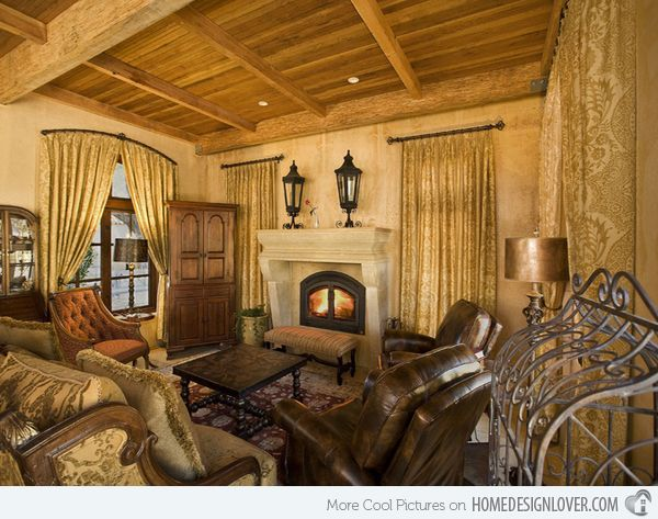 17 Best Ideas About Tuscan Living Rooms On Pinterest