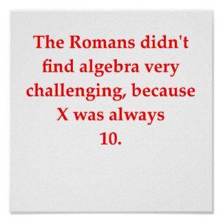 Funny Math Posters | Zazzle