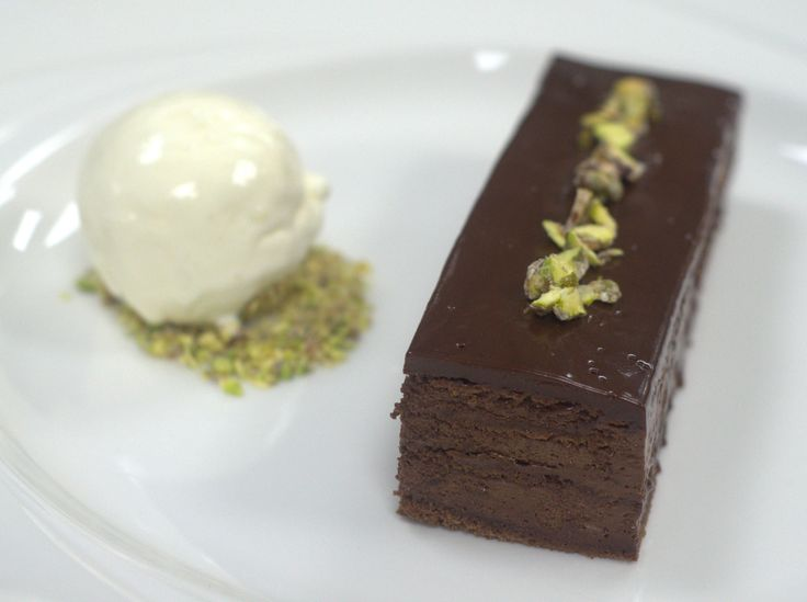 Chocolate Pave by Murray Edwards head chef