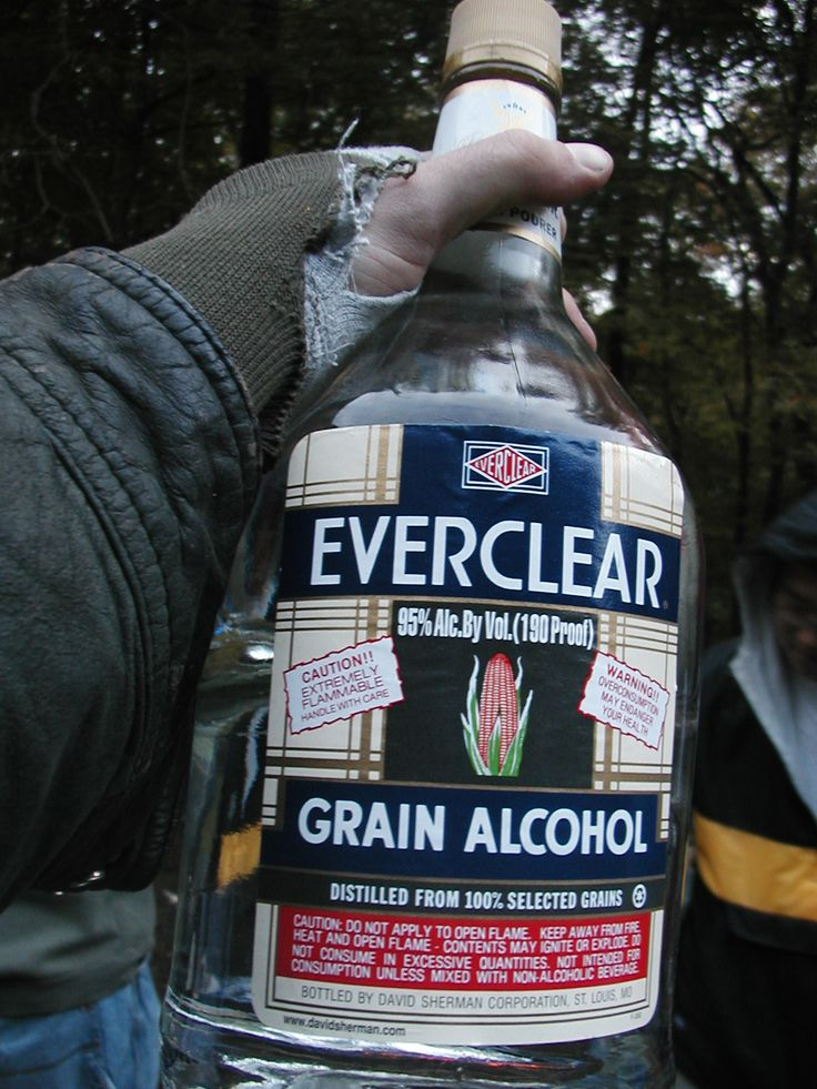 Everclear Grain Alcohol.  The base for all summertime YUCKAH or JUNGLE JUICE blends.  12 hrs prior to 'PARTY TIME' place your mixture container of choice in to a tub or kiddy pool, add fruit, fruits juices and adequate amounts of Everclear in to a LARGE insulated container and seal.  1 hr before party time, fill the tub/kiddy pool with ice & WAH-LAH!