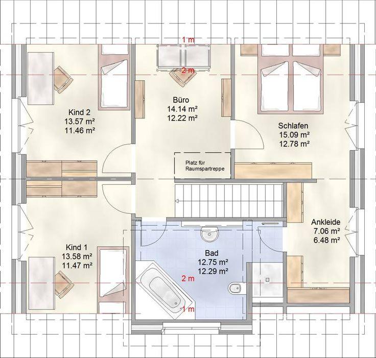 Simple FAM Grundriss Dachgeschoss