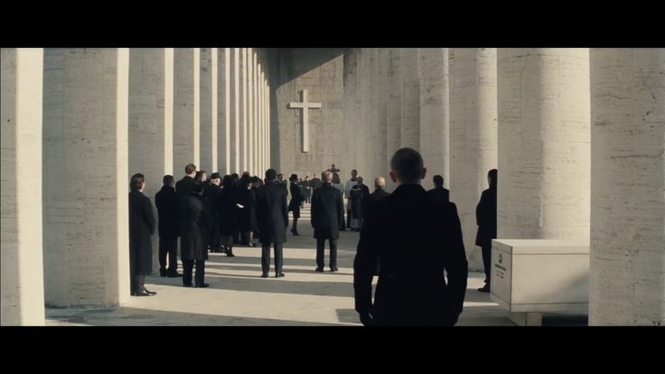 Museum of Roman Civilization (Depicted as Cemetery) Rome, Italy as seen in Spectre | TheTake
