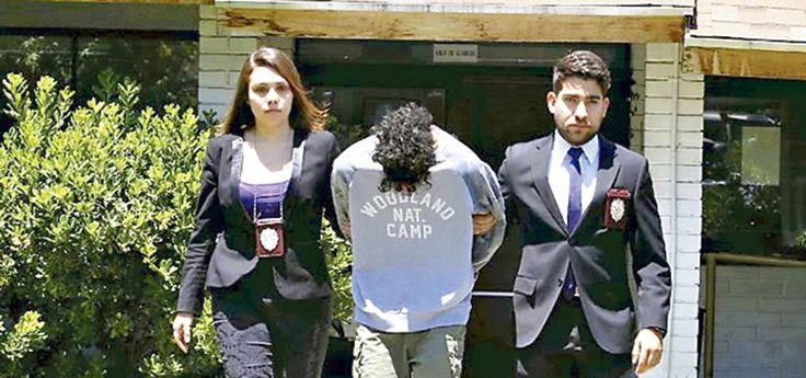 Arresto domiciliario para menor por robo a casa de fiscal Gajardo - LaTercera