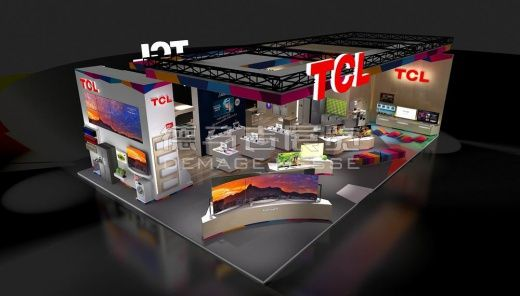 TCL Brazil,English Booth Design,TCL Corporation Exhibition Hall Planning【Demage English Exhibition Company】