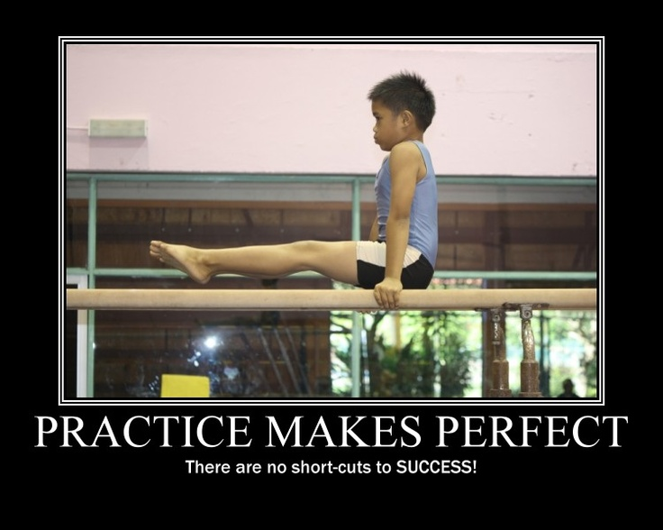 Practice makes perfect - boy gymnasts from Sabah #gymnastics