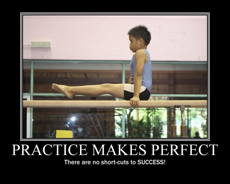 Practice makes perfect - boy gymnasts from Sabah #gymnastics