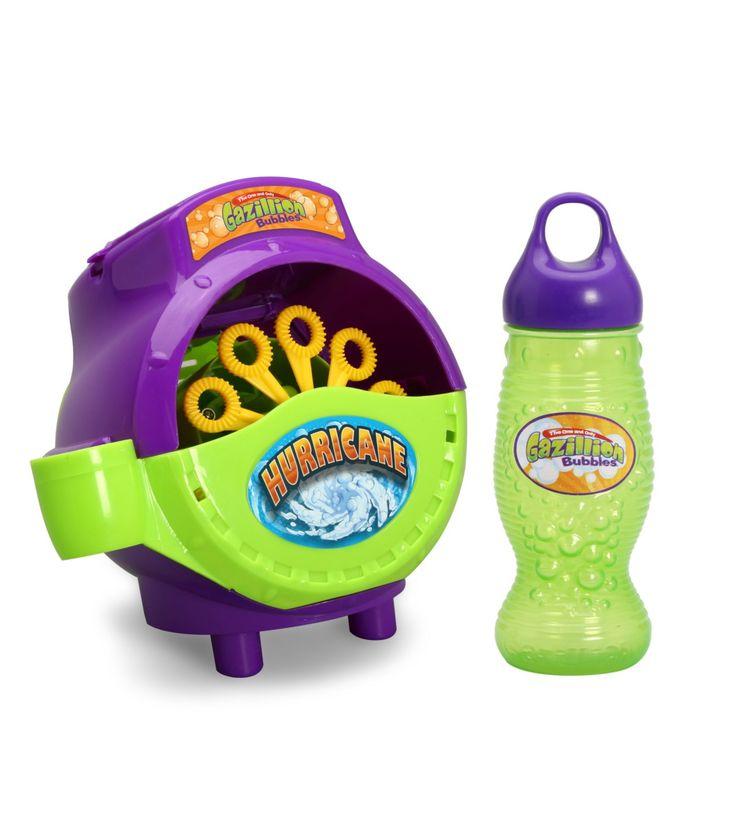 """Набор """"Ураган"""" машина для мыльных пузырей,Gazillion"""