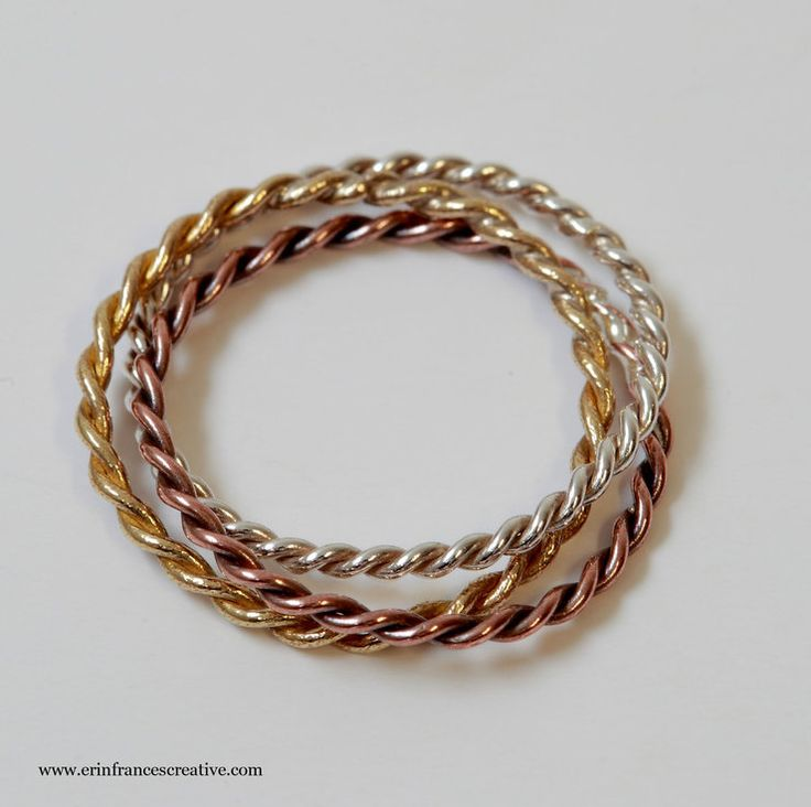 russian twist ring by erin frances creative