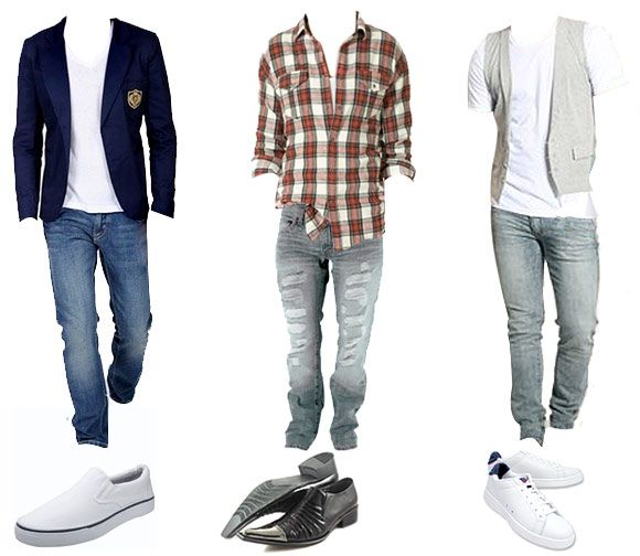 3 looks for men