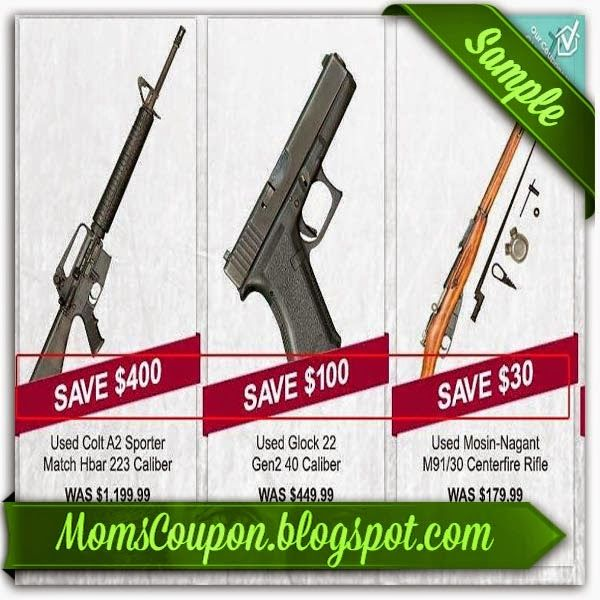 printable Gander Mountain coupons February 2015