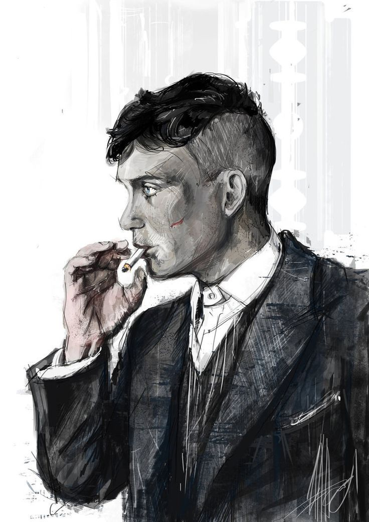 thomas shelby peaky blinders poster