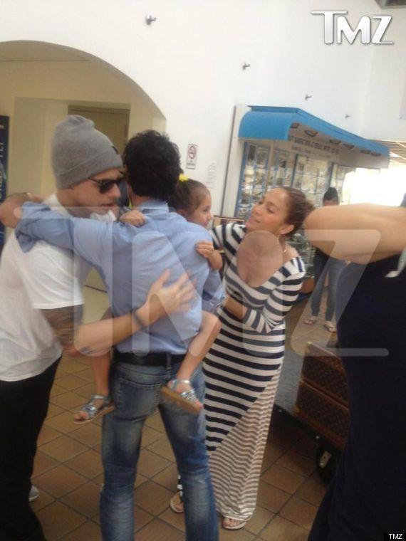 happy birthday marc anthony | Marc Anthony, Casper Smart Hugging: J.Lo's Ex-Husband, Boyfriend Make ...