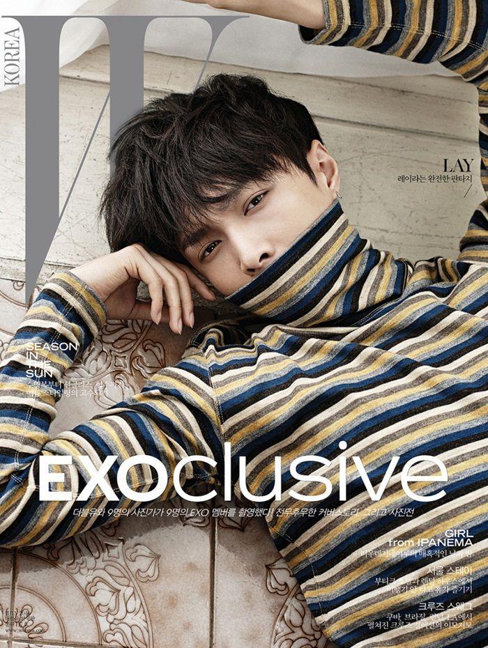 EXO Lay - W Korea Magazine '16