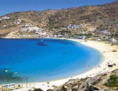 Yialos beach Ios, Greece