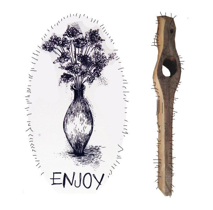 Enjoy the great times and learn from the obstacles that comes your way.  #mixedmedia#ENJOY#organic #drawing