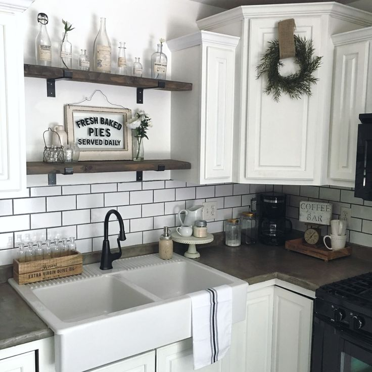 Pin By Reham Hany On Open Shelving: Hello Loves, Since Doing Our Kitchen Reno I Haven't Gone