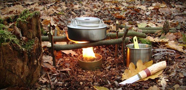 Buddy burner, kieszonkowa survivalowa kuchenka na awaryjne sytuacje. Do samodzielnego zrobienia. Doskonała na biwak, do gotowania, ogrzewania lub oświetlania.