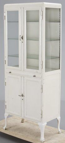 an old pharmacy cabinet as a shoe cabinet?                              …