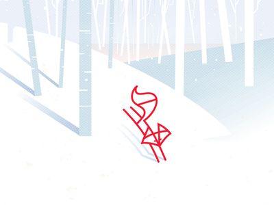 Winter Run 简单的曲线表现出了悦动的感觉