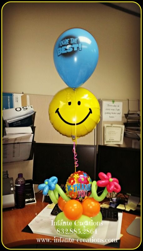 Administrative Assistant Day Balloons  #ThankYou #Appreciation #AdminDay #Balloons #Qualatex #Anagram