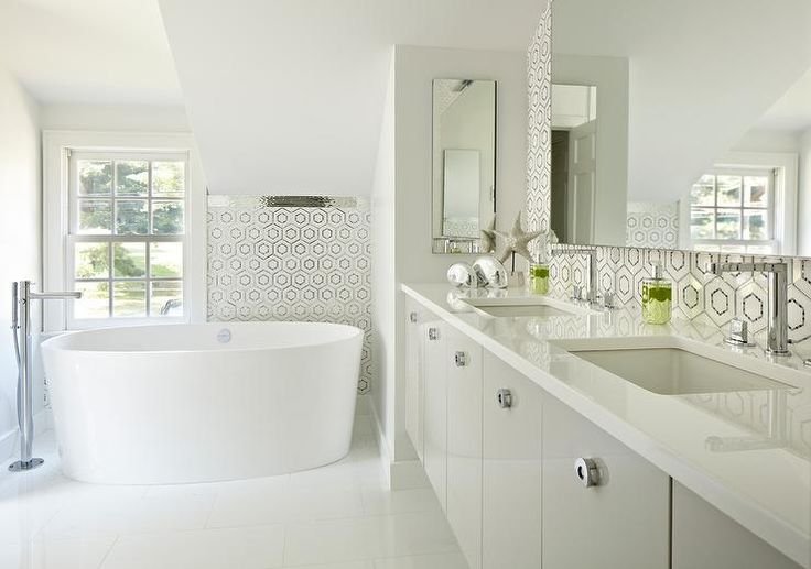 Best 25 Modern Bathroom Lighting Ideas On Pinterest: Best 25+ Vanity Backsplash Ideas On Pinterest