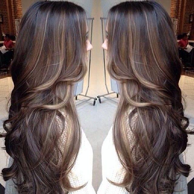 brunette•balayage