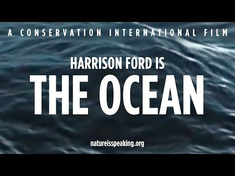 Nature Is Speaking – Harrison Ford is The Ocean | Conservation International (CI) - YouTube