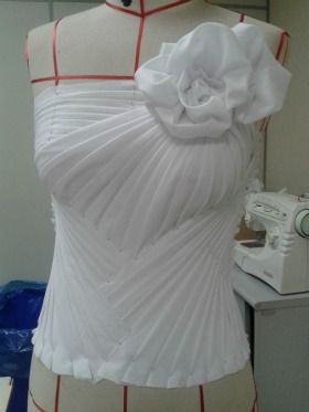 moulage also known as draping, dimensional modeling. This website has many versions and loads of information.