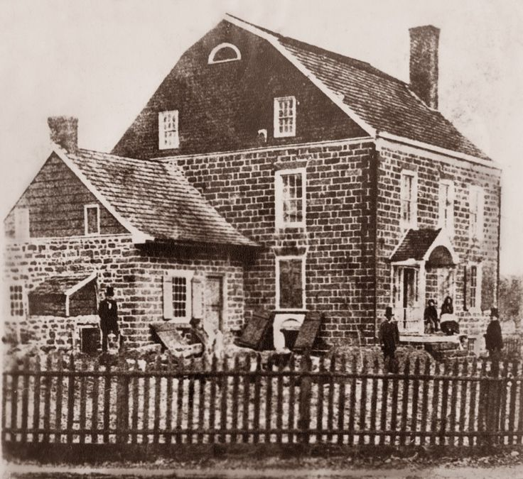 Thanks to Ho-Ho-Kus (NJ)-based Haviland Photography for this 1857 photo of what later became the Ho-Ho-Kus Inn and Tavern (which I rated 2.5 stars in today's paper.) At the time, the Dutch Colonial was still being used as a private residence.